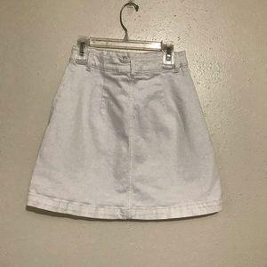 H&M Skirts - H&M white denim skirt